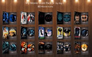 My Movie Store DVDs Pack 5 by ibg-5