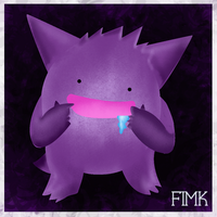 Ditto as Gengar! by fimk