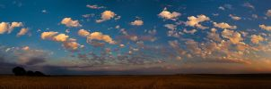 Cotton Ball Sunset I by kylewright