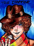 4th Doctor by Honey--Bee