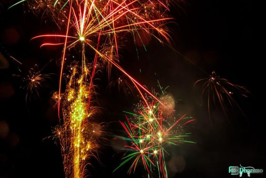 FireWorks 2014 #3 by dhanzzo