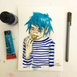 2d by lora-zombie