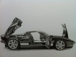 Ford GT by mathijs050