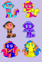 Adoptable Kittens/Cats Batch by matchmakingdove1028