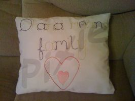 Mothers Day Cushion - Front by PixieRay