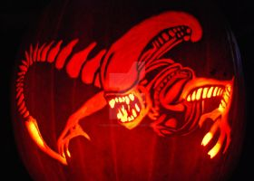 Alien Pumpkin by Naitachal666