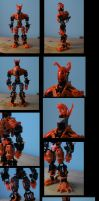 bionicle: protuus update (nutrus armor) by CASETHEFACE