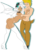 Nahum and Lenore by Rtist-Time