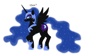 The Mare on the Moon by TeaganLouise