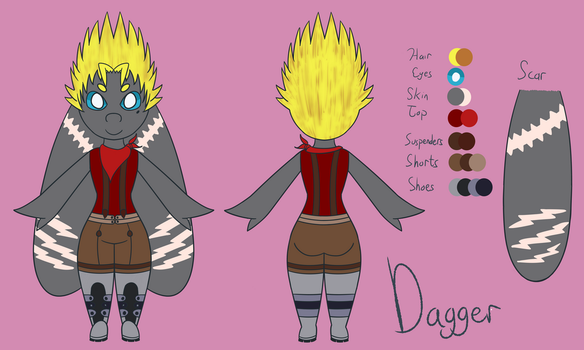 [AT] Dagger Ref by aalleeyyee