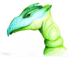 Green Dragon by Pittfiend