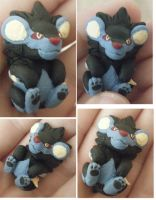 Luxray Charm by LeluDallas