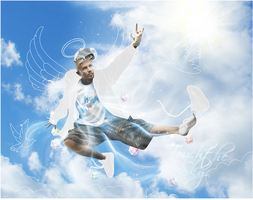 Photomanip Touch the Sky by ROH2X