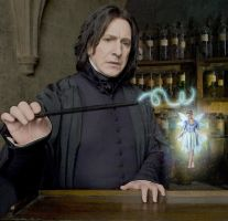 Snape believes in fairies by Dixiebell12