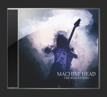 Machine Head CD Cover by Mootinie