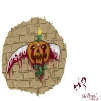 New Logo (Halloween-Pumpkin) by This-Shattered-Mind