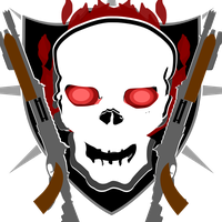 Zombies Shotgun emblem (Red with flame) by Undeaddemon4