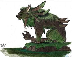Swamp Lion by MadCheshireFox