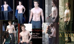 4 Twilight fans,Ed- shirtless by LilDevilAriel