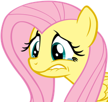 Sad Fluttershy by anitech
