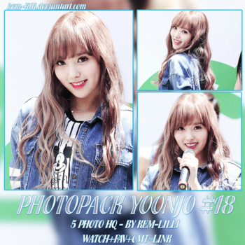 PHOTOPACK YOONJO COLLECT BY KEM_LILLI #18 by Kem-Lilli