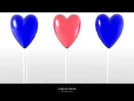 Lollipop Hearts by Digital-Virtuosity