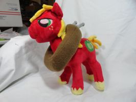 Big Macintosh Plush by Cryptic-Enigma
