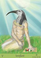 Thoth, Egyptian God by Narell