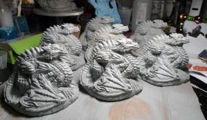 Dragon castings! FOR SALE! by Meadowknight