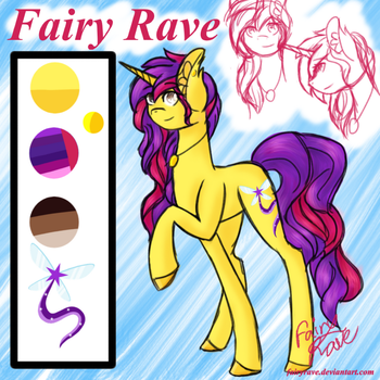 Fairy Rave - Reference Sheet  by FairyRave