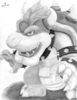 Bowser by Glaexeaus