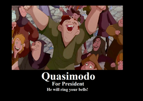 Quasimodo for President by BelleSura