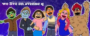 We Live on Avenue Q by lanini