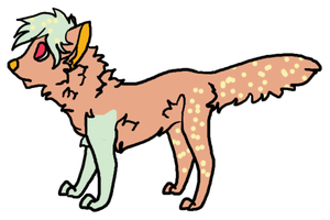 Mystery Dog #11 - wolf-king45 by Feralx1