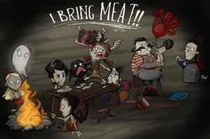 No one starves on Thanksgiving by MF99K