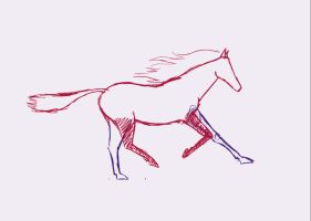 Running horse_animation test by Ildwins