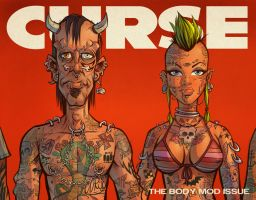 CURSE Cover Art by blitzcadet