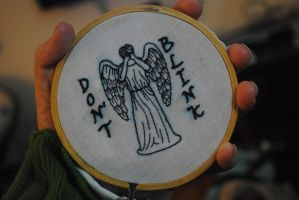 Don't Blink by Eviltwinpixie