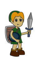 Young Link Vector by pikmin789