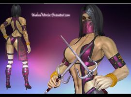 MKD Mileena alternate by UndeadMentor