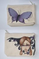 Make-up bag for my friend by MelMelman