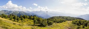 High Caucasus Panorama by Glazier213