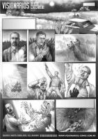 Comic Artwork Pencils_01 by GHU4U