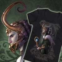 Welovefine Marvel Villains contest: KNEEL! Loki by Medusa-Dollmaker