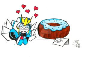 TF RID 2015: A Cop and Her Donut by Tboniuss413