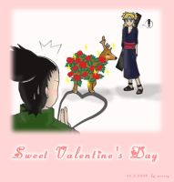 Shikamaru's Valentine's Day by messsy