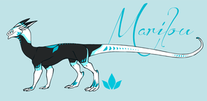 Marilou dragon form ref by annicron