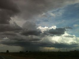 Storm in La Mancha by mottomoyoi
