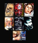 Star Wars Masterwork sketches (2nd wave) by Dr-Horrible
