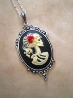 Ivory Lolita Skeleton Necklace by couturebylolita